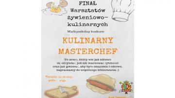 Finał warsztatów żywieniowo – kulinarnych