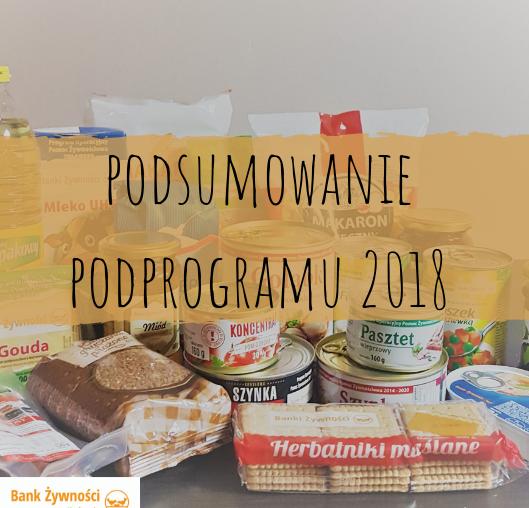 Podsumowanie Podprogramu 2018