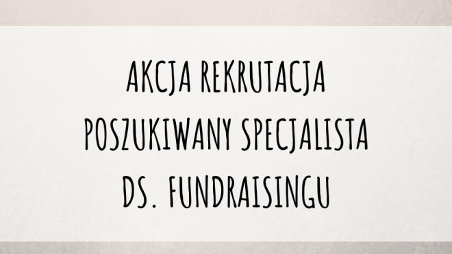 Praca dla fundraisera